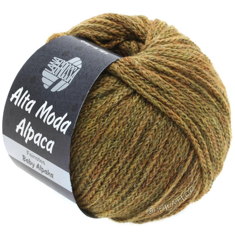 Lana Grossa ALTA MODA ALPACA | 50-golden brown mottled