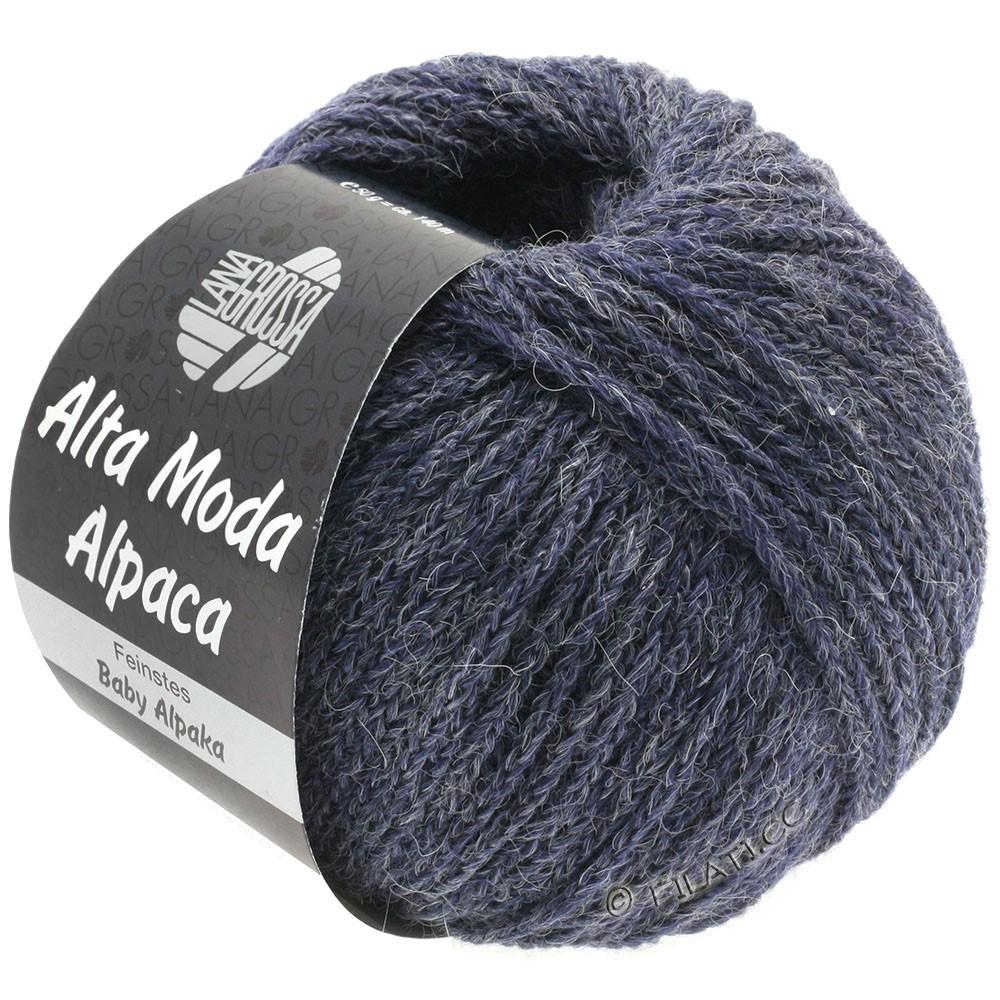 Lana Grossa ALTA MODA ALPACA | 52-gray violet mottled