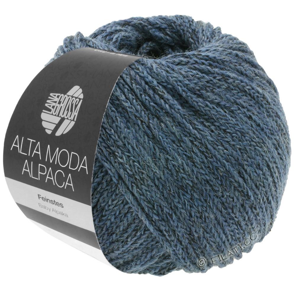 Lana Grossa ALTA MODA ALPACA | 60-gray blue mottled