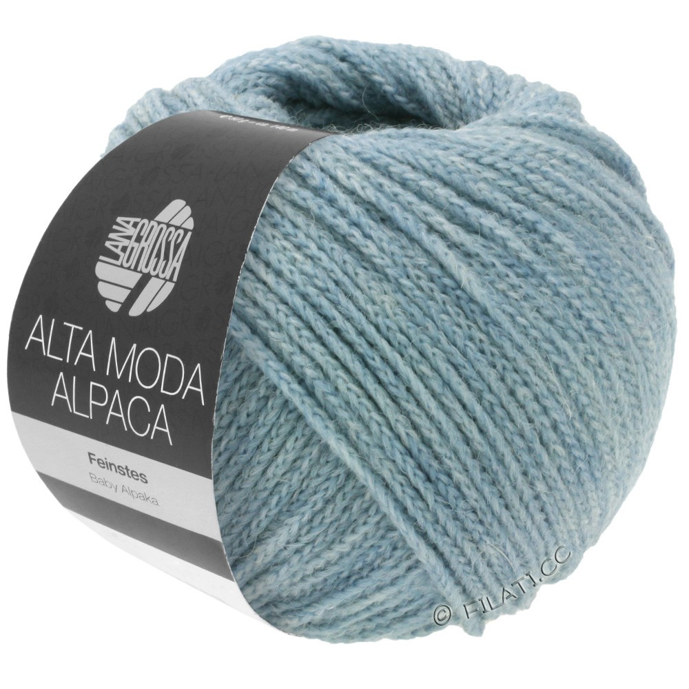 Lana Grossa ALTA MODA ALPACA | 65-light blue mottled