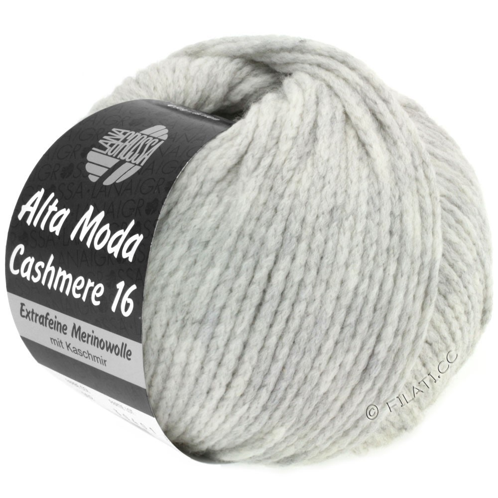 Lana Grossa ALTA MODA CASHMERE 16 | 001-light gray mottled