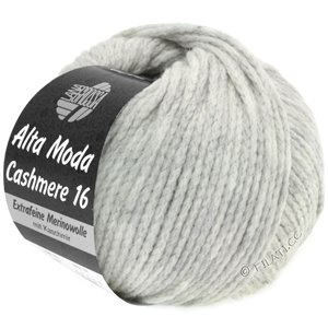 Lana Grossa ALTA MODA CASHMERE 16 | 01-light gray mottled