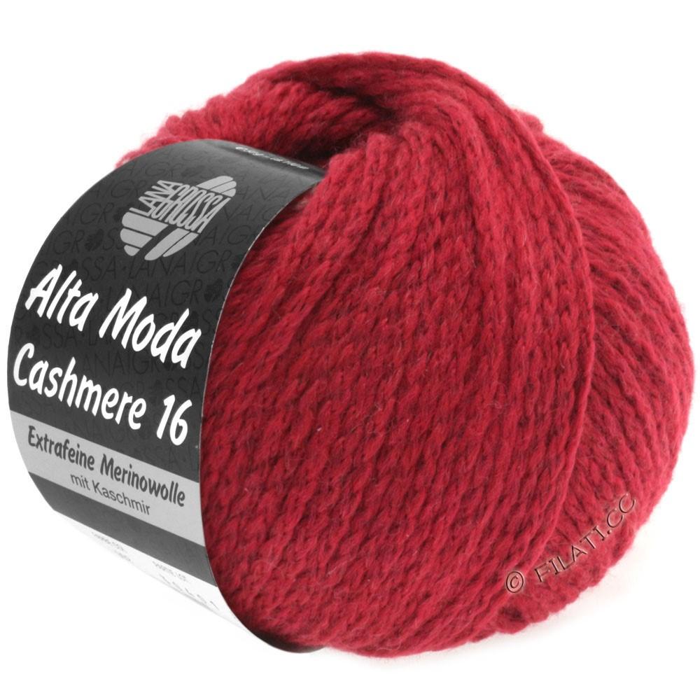 Lana Grossa ALTA MODA CASHMERE 16 | 10-dark red