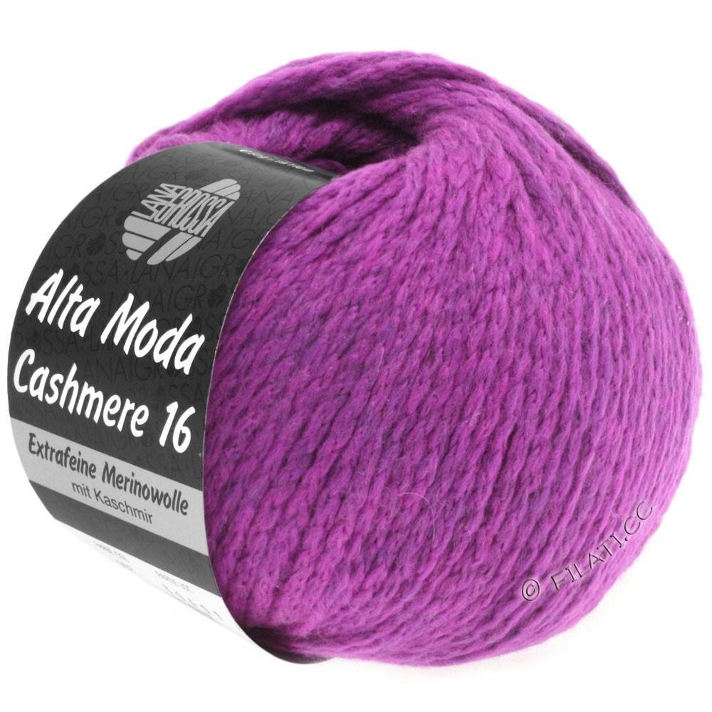 Lana Grossa ALTA MODA CASHMERE 16 Uni/Degradè | 012-violet