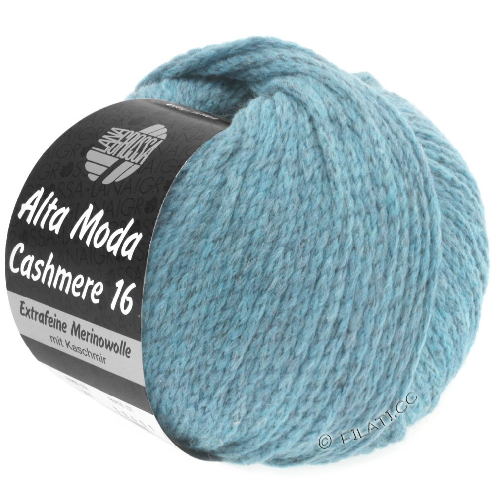 Lana Grossa ALTA MODA CASHMERE 16 Uni/Degradè | 018-light blue