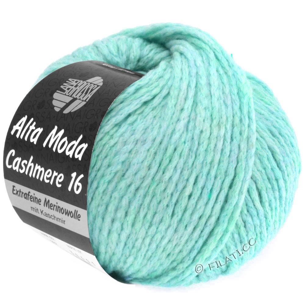 Lana Grossa ALTA MODA CASHMERE 16 Uni/Degradé | 019-light turquoise