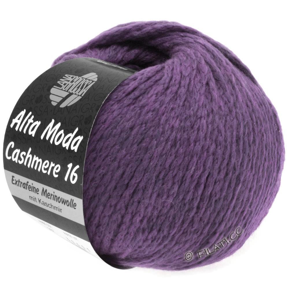 Lana Grossa ALTA MODA CASHMERE 16 Uni/Degradè | 021-violet
