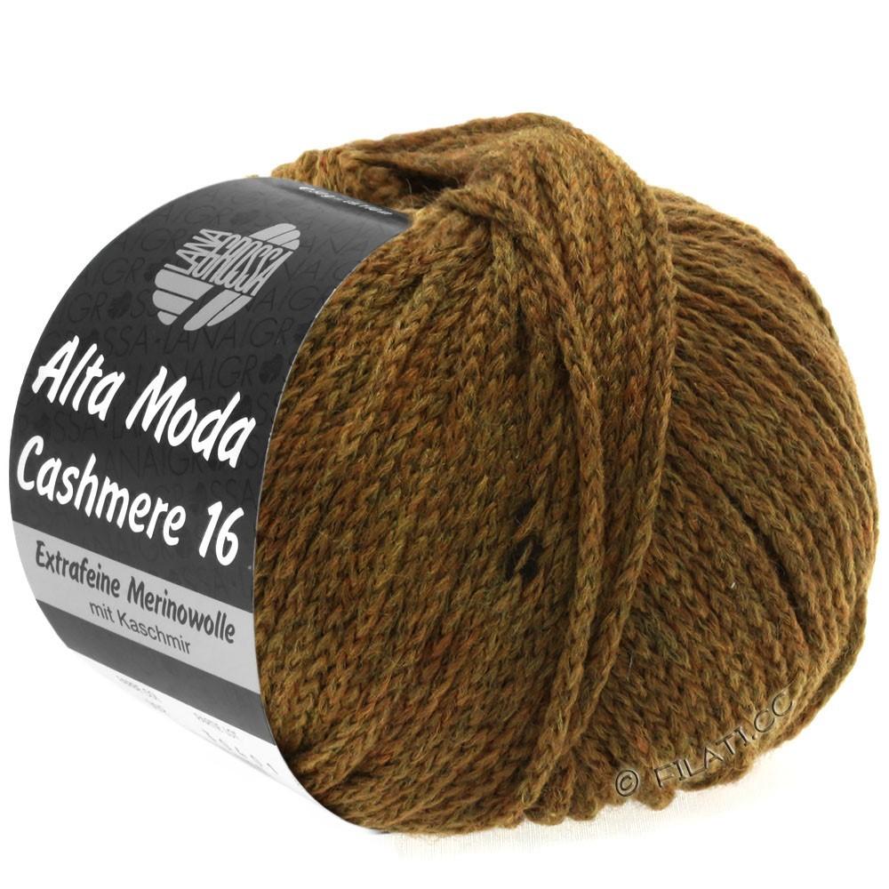 Lana Grossa ALTA MODA CASHMERE 16 Uni/Degradé | 026-mustard brown