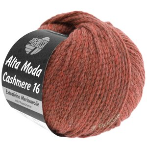 Lana Grossa ALTA MODA CASHMERE 16 | 30-clay red