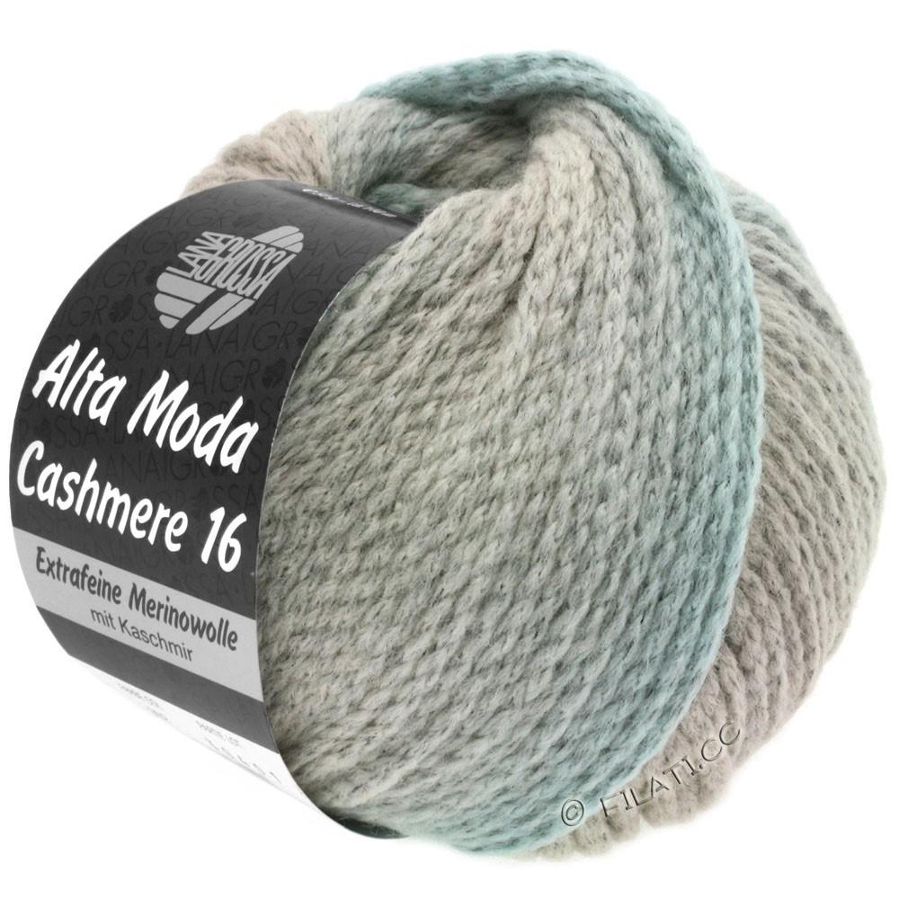 Lana Grossa ALTA MODA CASHMERE 16 Uni/Degradé | 106-grège/silver gray/light gray/pastel blue