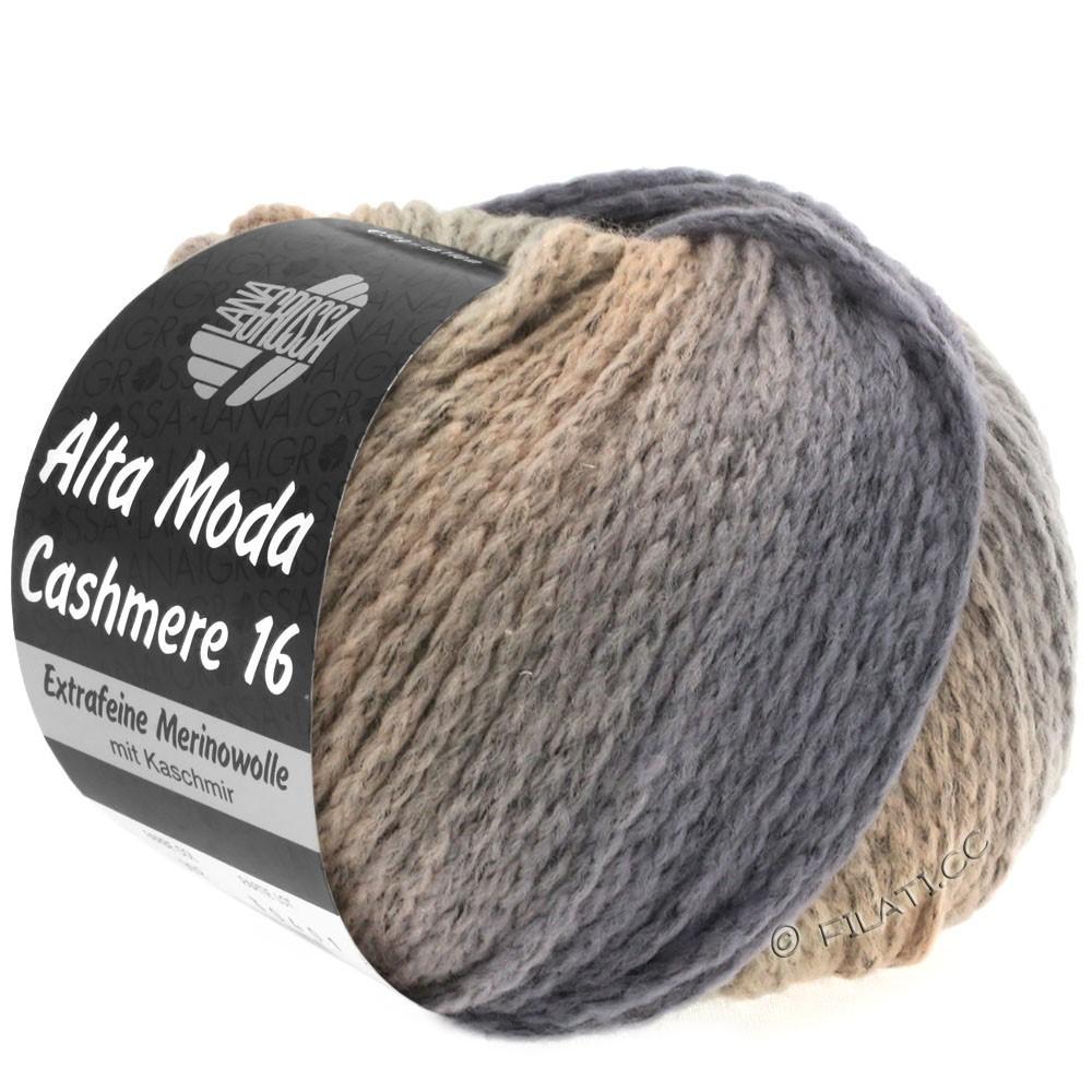 Lana Grossa ALTA MODA CASHMERE 16 Uni/Degradé | 111-gray/beige