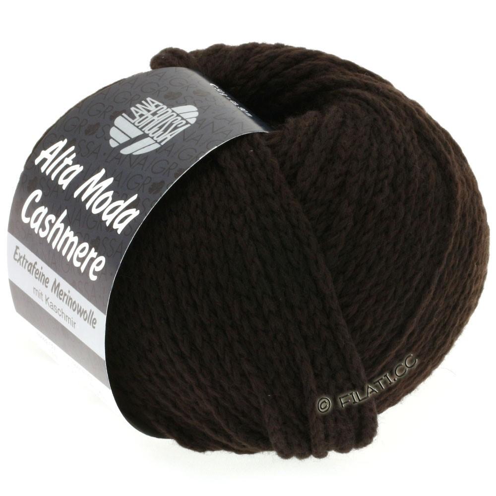 Lana Grossa ALTA MODA CASHMERE   08-black brown