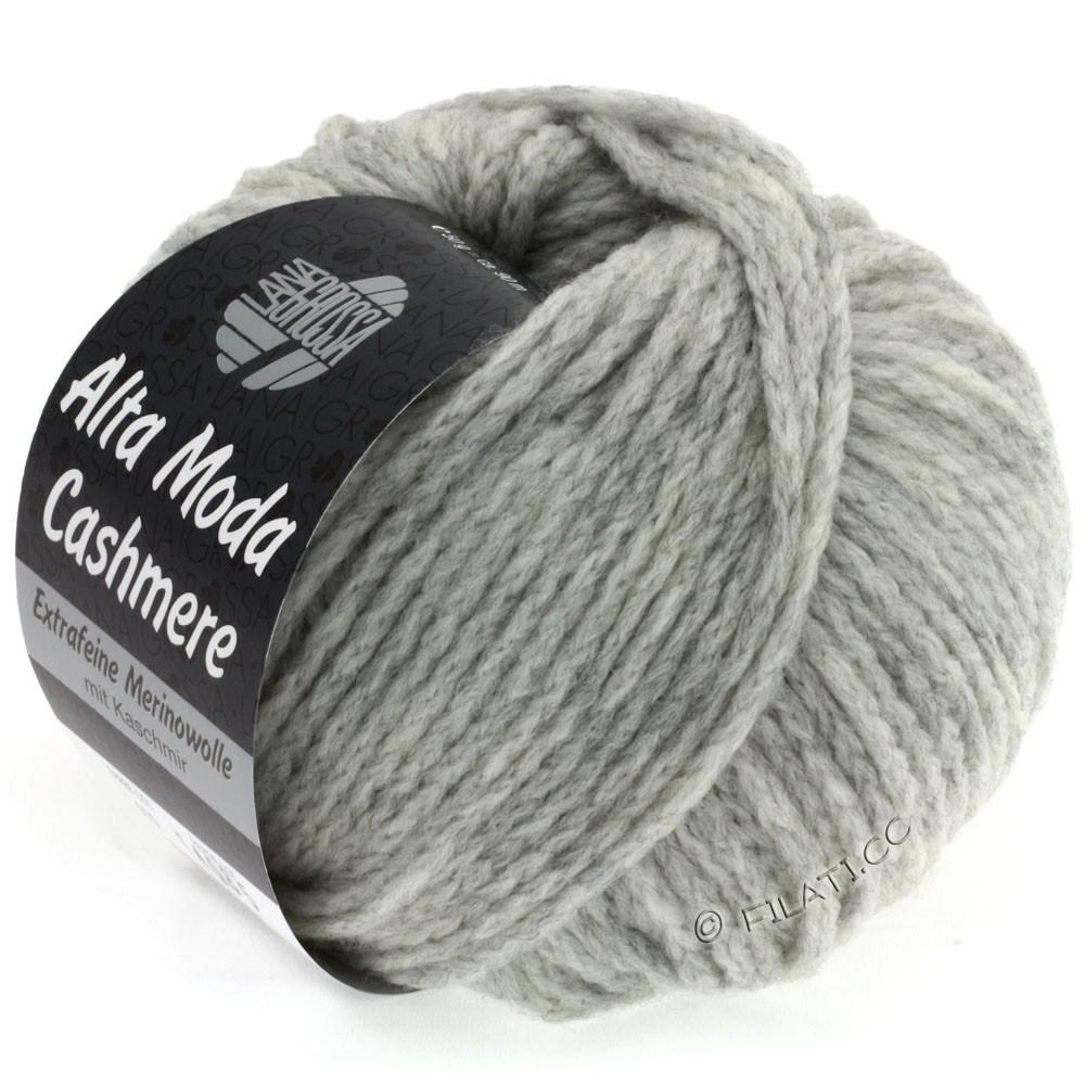 Lana Grossa ALTA MODA CASHMERE   10-light gray mottled
