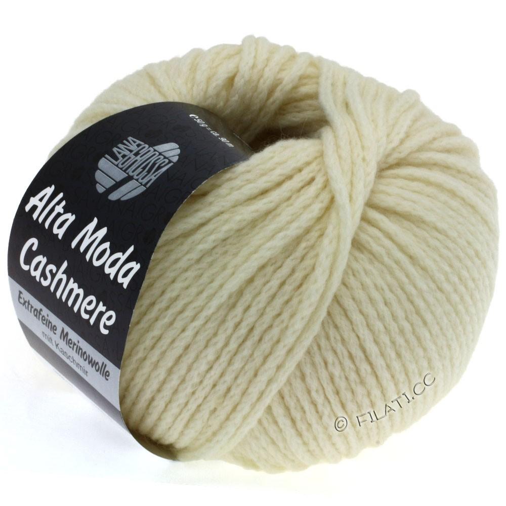 Lana Grossa ALTA MODA CASHMERE   11-raw white