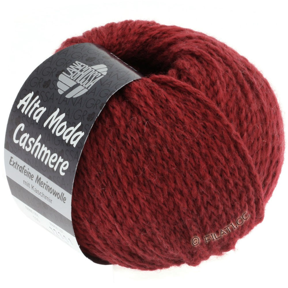 Lana Grossa ALTA MODA CASHMERE | 16-brick red mix