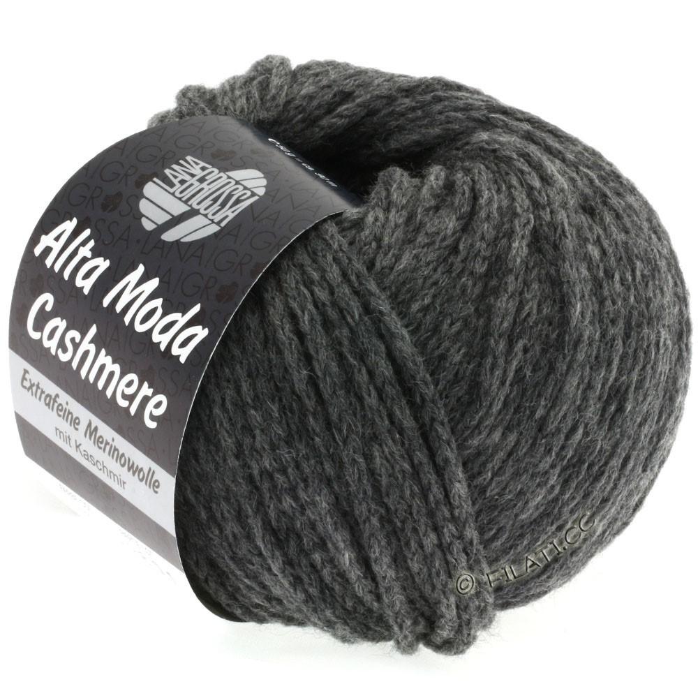 Lana Grossa ALTA MODA CASHMERE | 19-dark gray