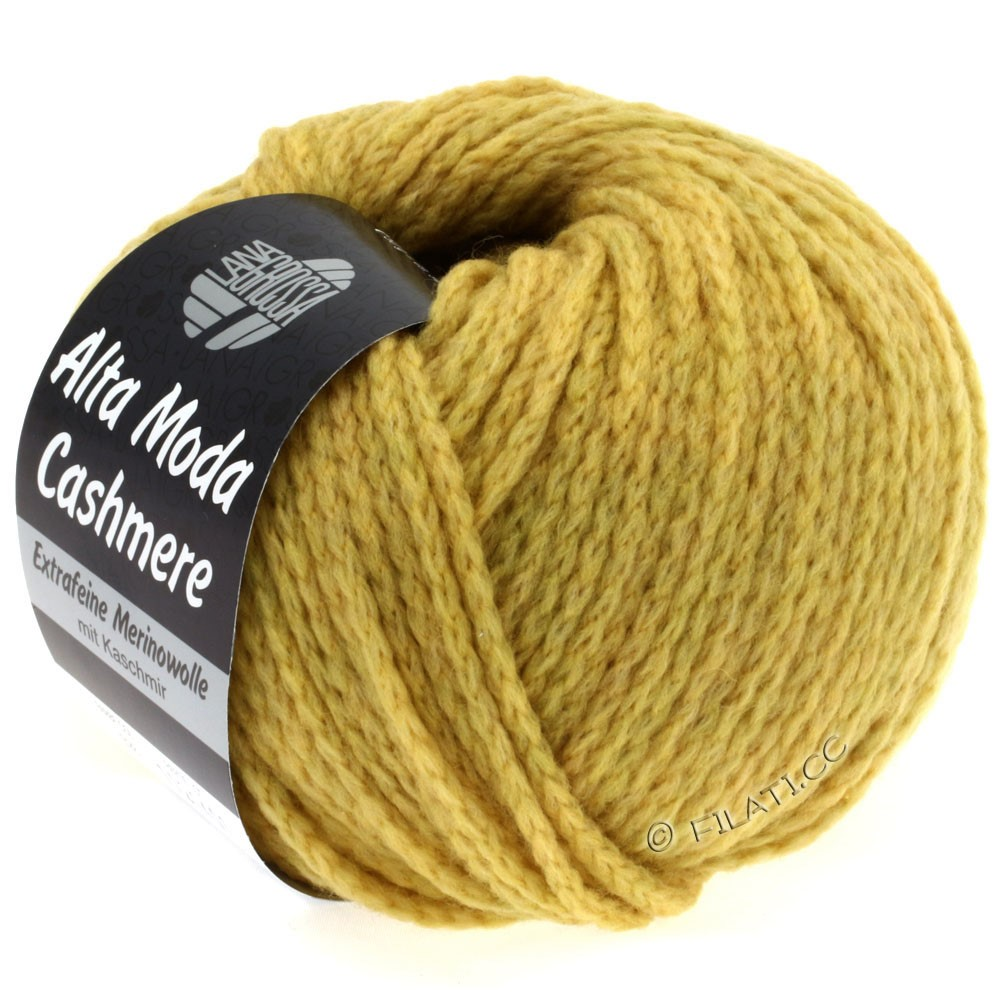 Lana Grossa ALTA MODA CASHMERE | 28-mustard
