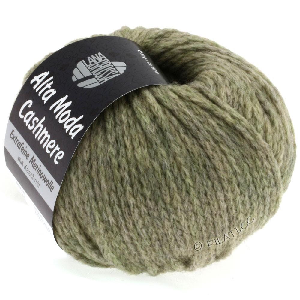 Lana Grossa ALTA MODA CASHMERE | 30-gray green