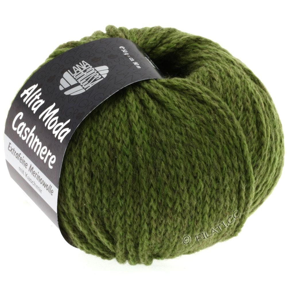 Lana Grossa ALTA MODA CASHMERE | 31-dark green mix