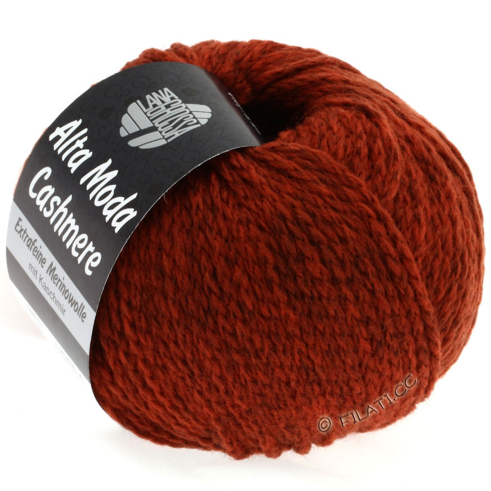 Lana Grossa ALTA MODA CASHMERE   34-copper red