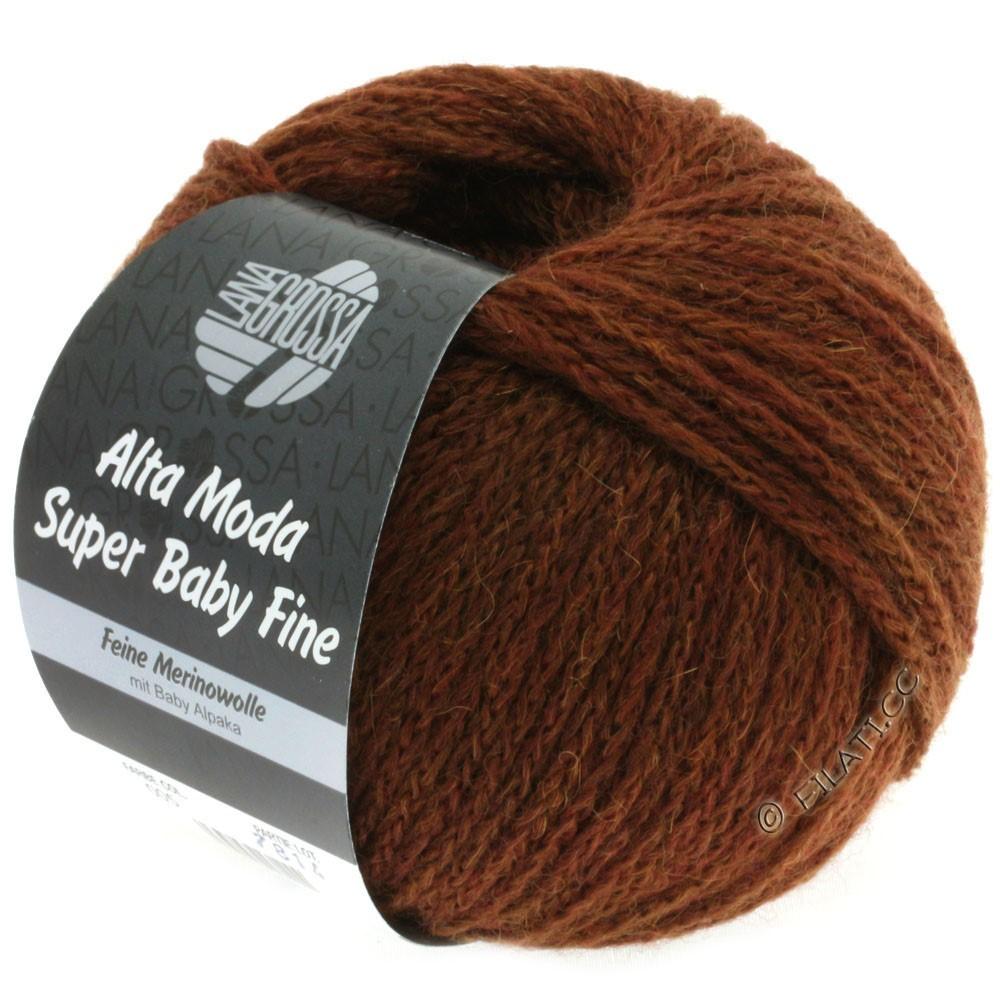 Lana Grossa ALTA MODA SUPER BABY FINE Uni | 05-chocolate brown