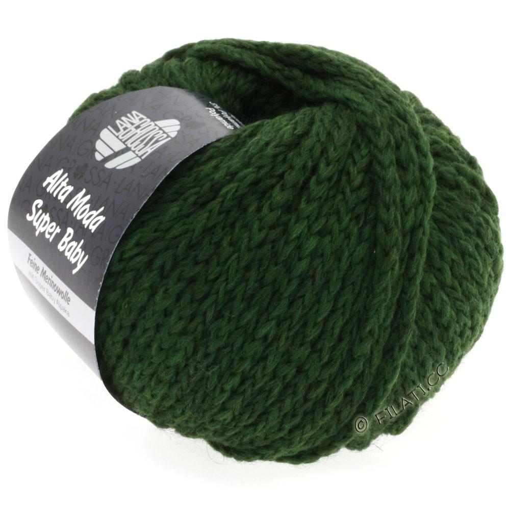 Lana Grossa ALTA MODA SUPER BABY  Uni | 013-dark green