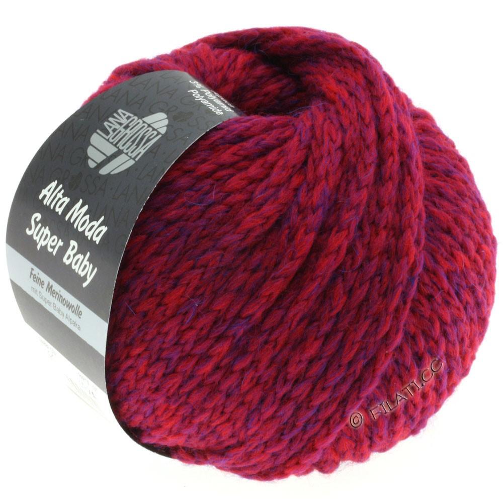Lana Grossa ALTA MODA SUPER BABY  Uni | 021-red purple