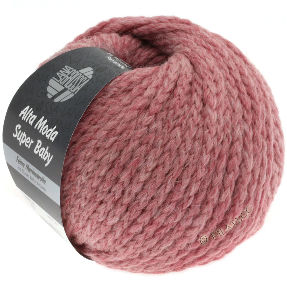 Lana Grossa ALTA MODA SUPER BABY Jaspè | 023-lilac rose