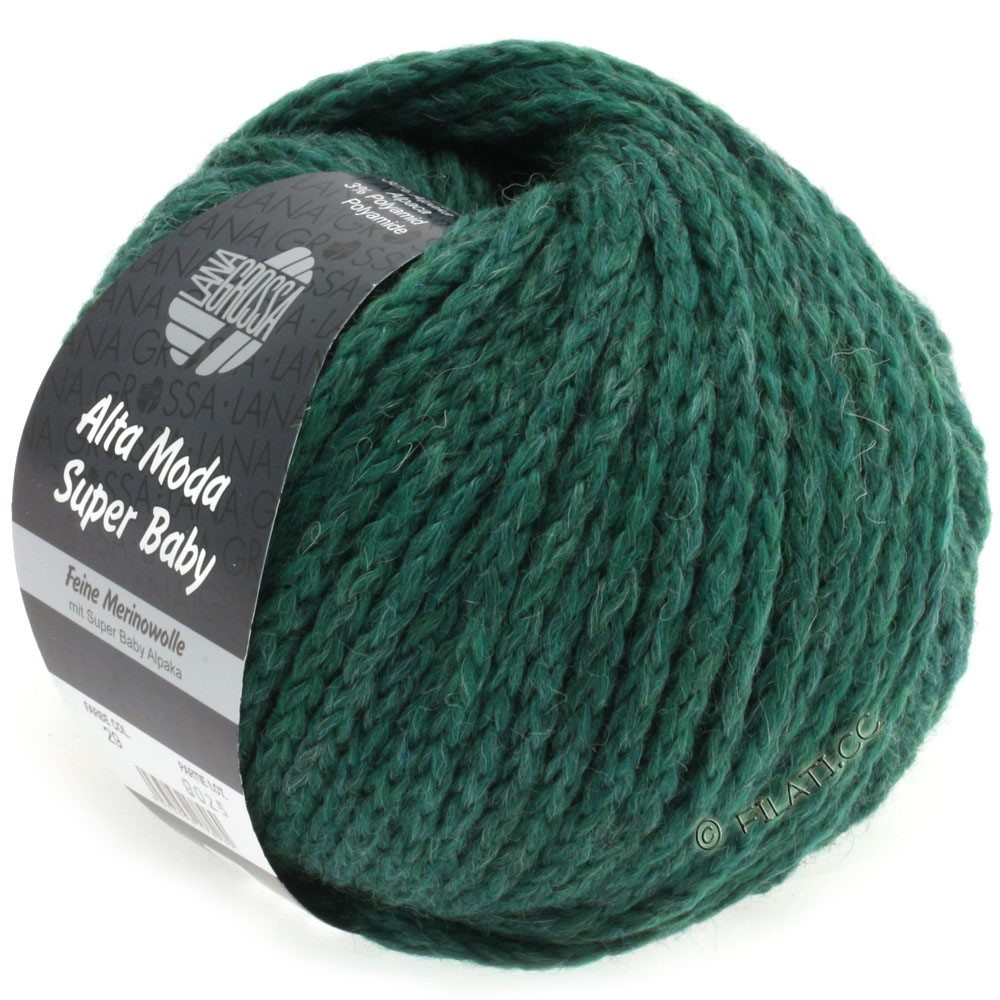 Lana Grossa ALTA MODA SUPER BABY Uni | 029-opal green