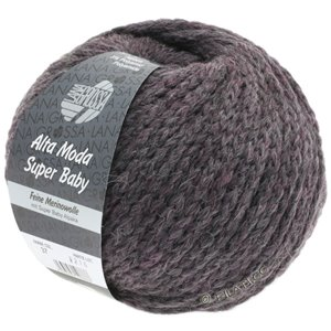 Lana Grossa ALTA MODA SUPER BABY  Uni | 37-gray purple mottled
