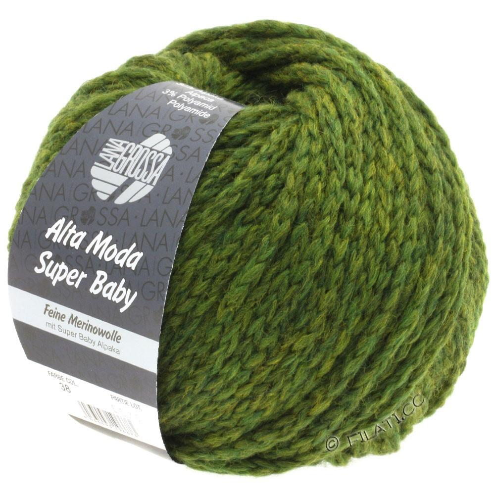 Lana Grossa ALTA MODA SUPER BABY  Uni | 038-olive green