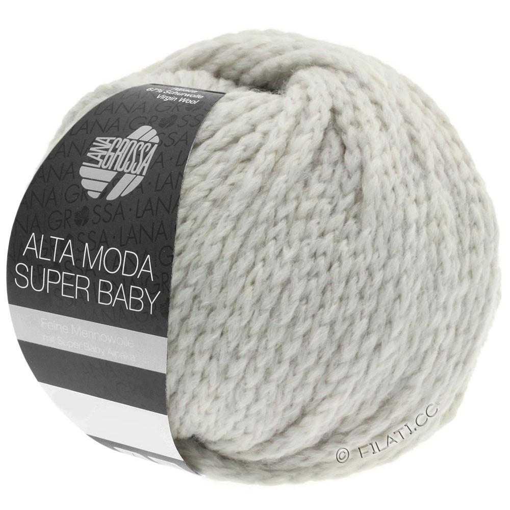 Lana Grossa ALTA MODA SUPER BABY  Uni | 040-silver gray