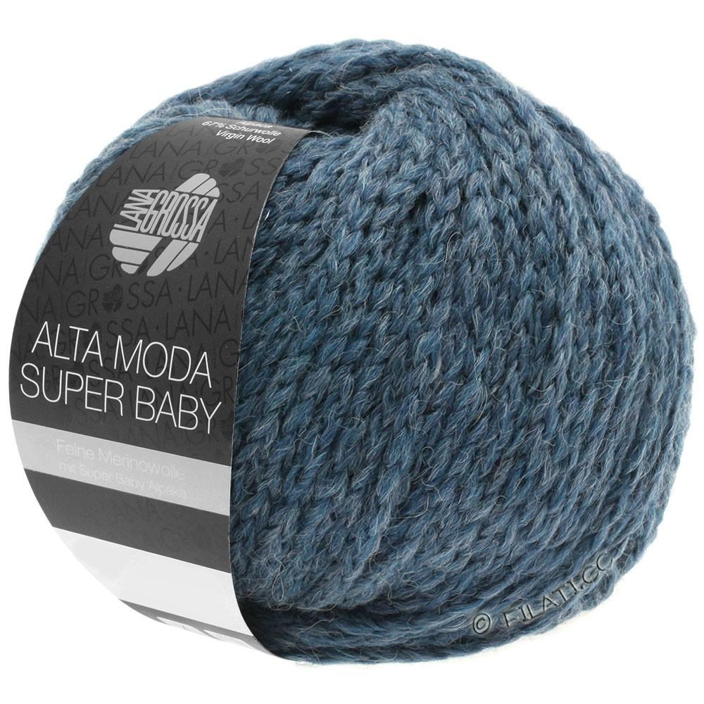 Lana Grossa ALTA MODA SUPER BABY  Uni | 041-gray blue mottled