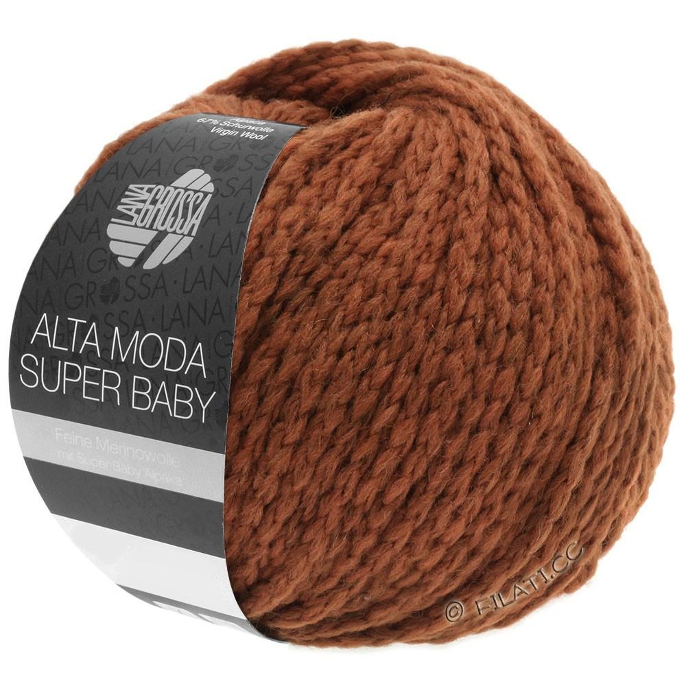 Lana Grossa ALTA MODA SUPER BABY  Uni | 043-terracotta