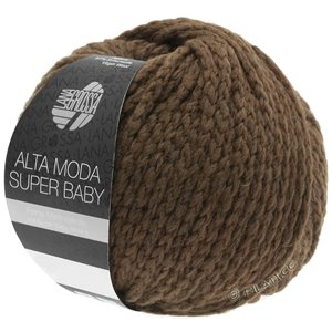 Lana Grossa ALTA MODA SUPER BABY  Uni | 45-dark brown
