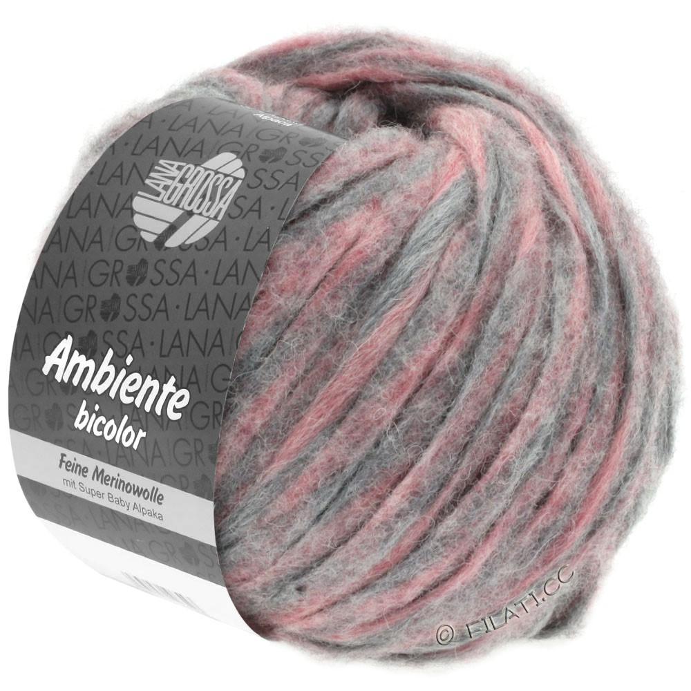 Lana Grossa AMBIENTE Bicolor | 104-heather/gray