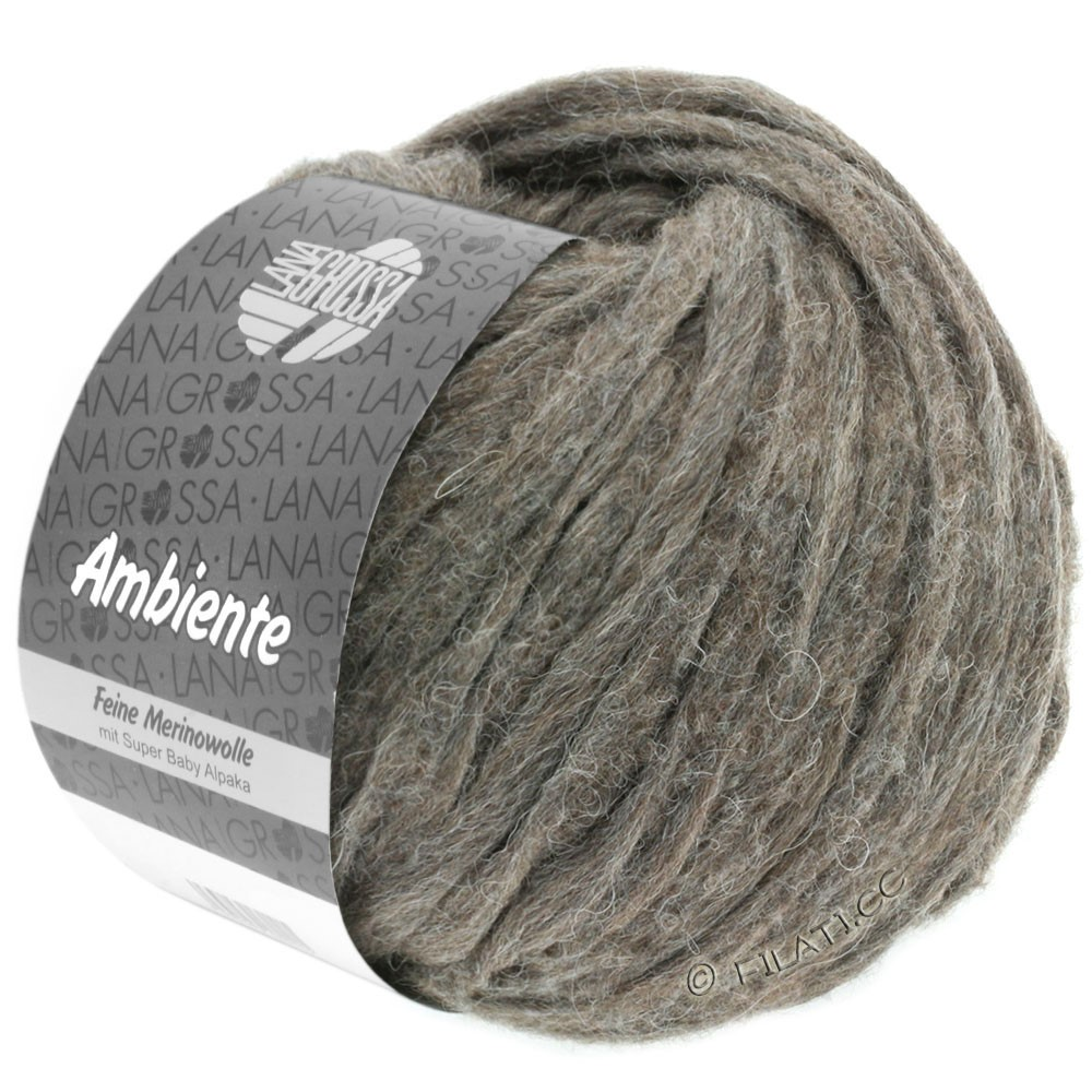 Lana Grossa AMBIENTE | 09-gray brown
