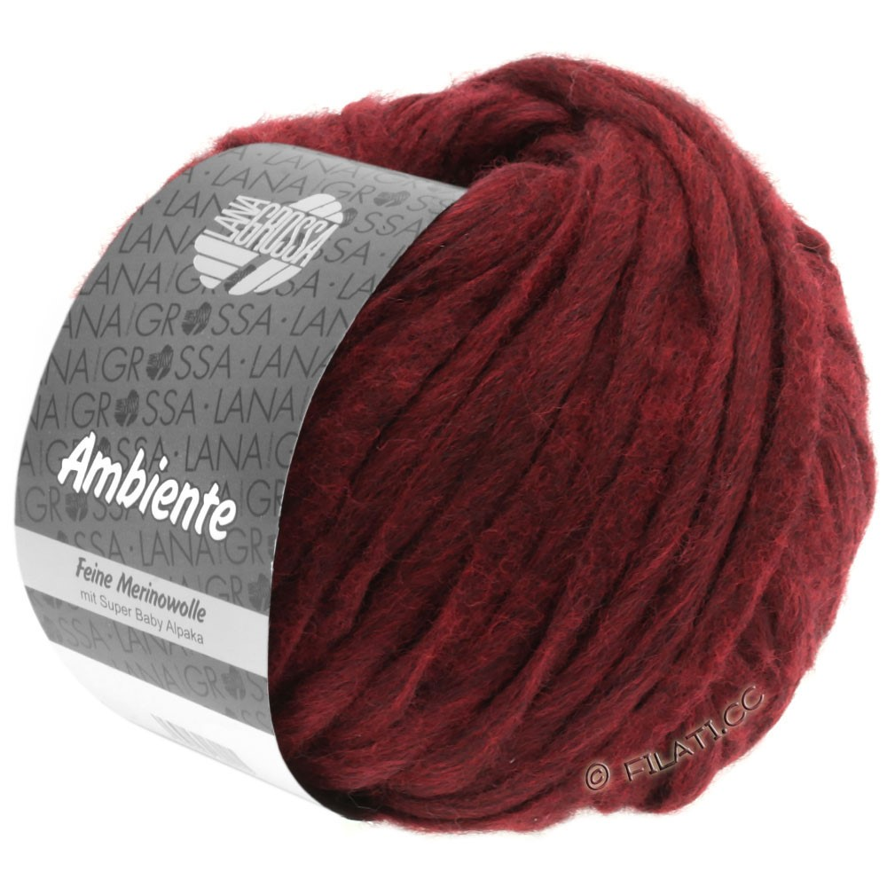 Lana Grossa AMBIENTE | 15-wine red