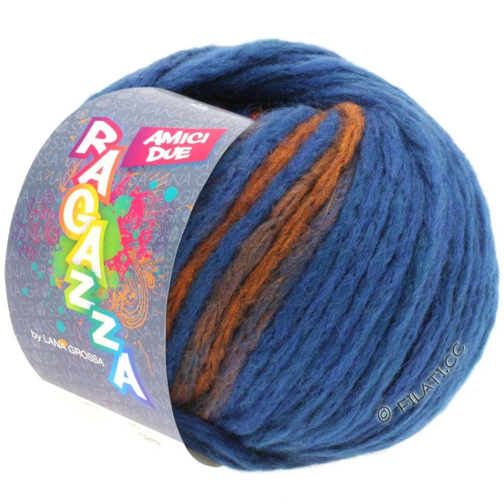 Lana Grossa AMICI DUE (Ragazza) | 103-blue/copper
