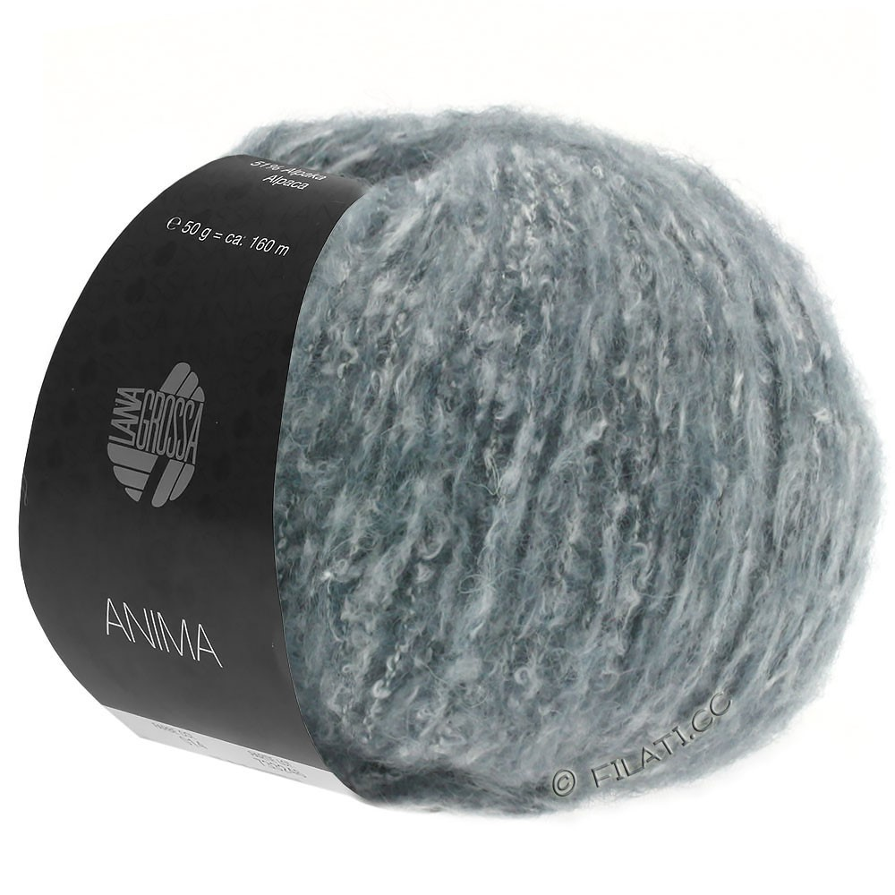 Lana Grossa ANIMA | 11-green gray mottled