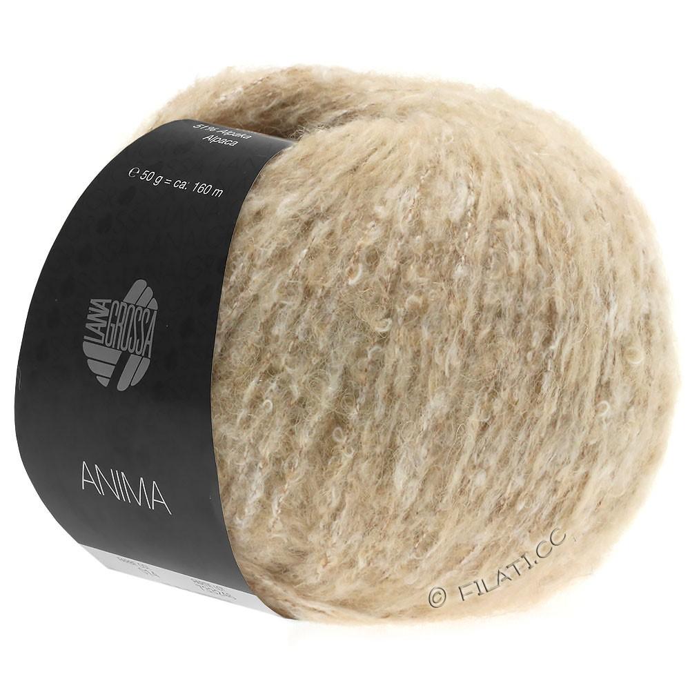 Lana Grossa ANIMA   14-beige mottled