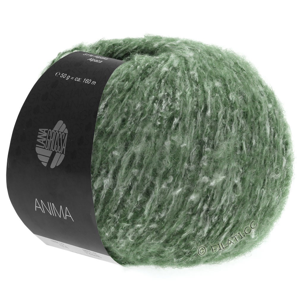 Lana Grossa ANIMA | 20-green mottled