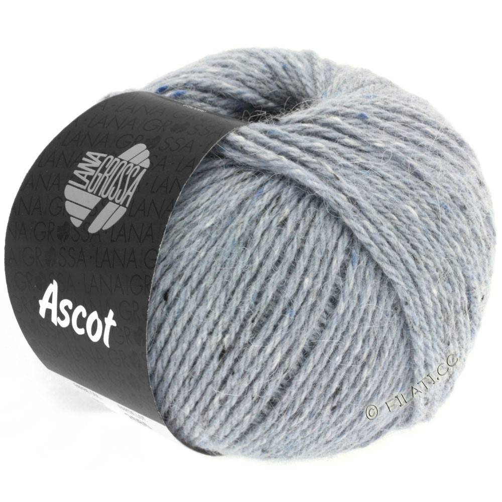 Lana Grossa ASCOT | 02-gray blue mottled