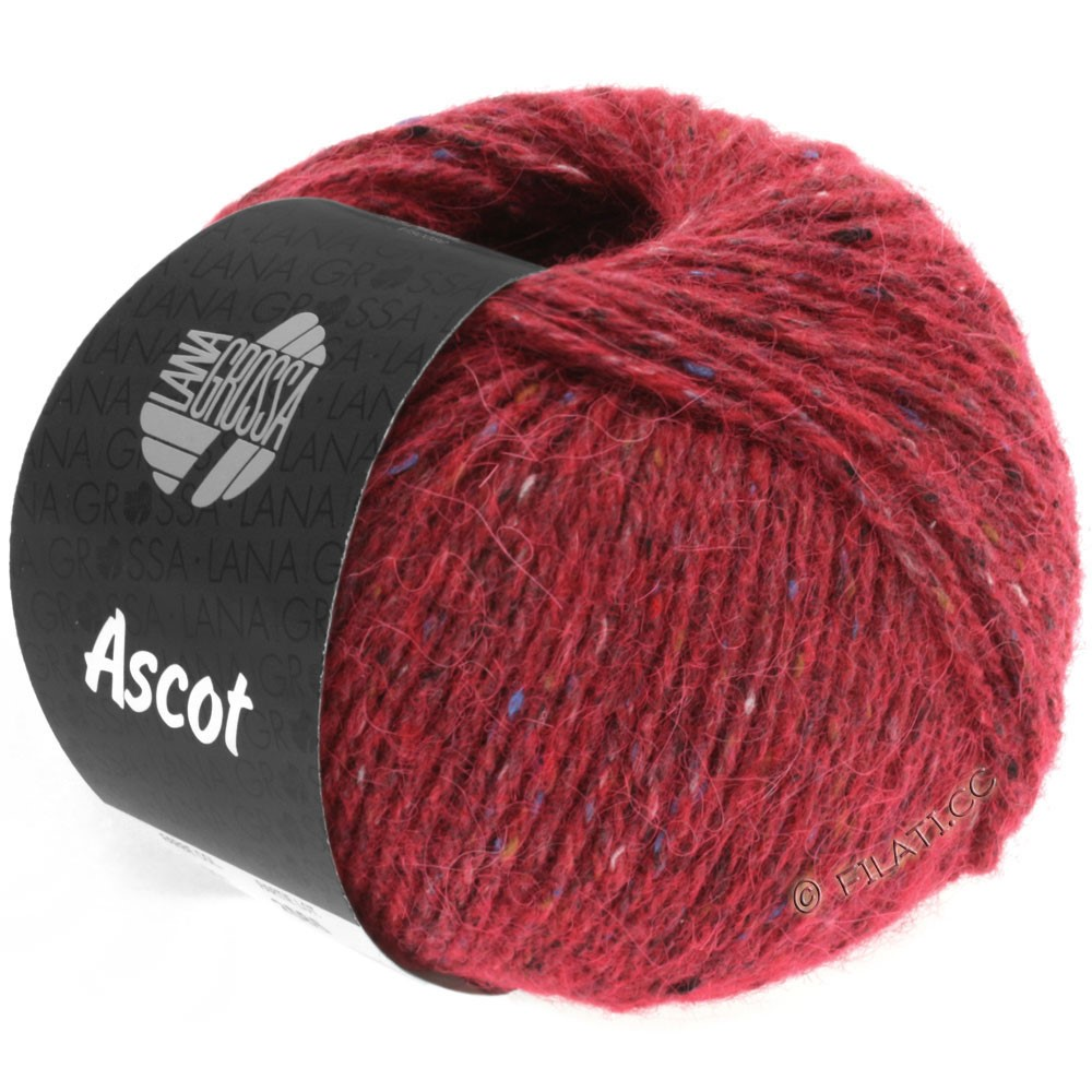 Lana Grossa ASCOT | 05-wine red mottled