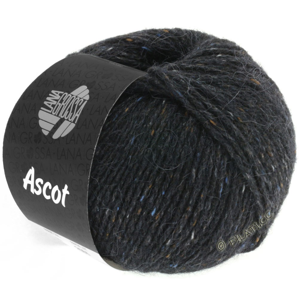 Lana Grossa ASCOT | 06-anthracite mottled