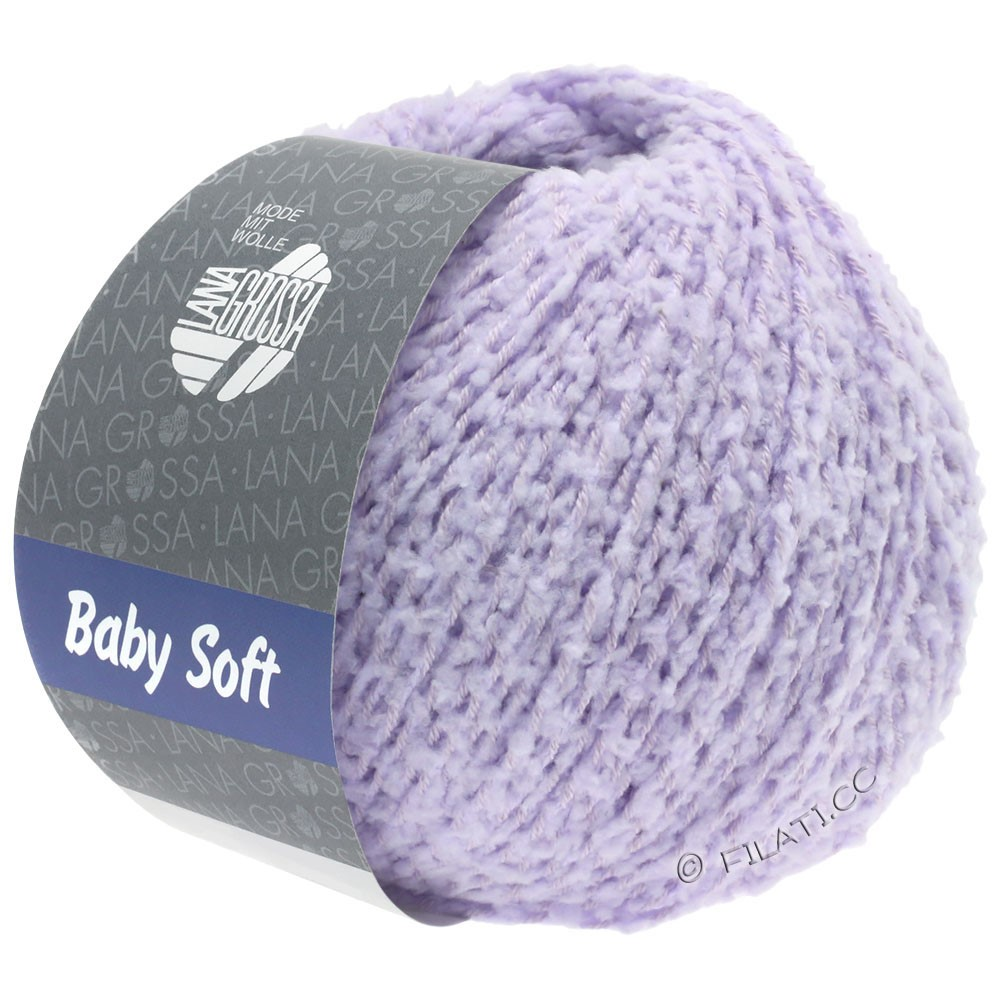 Lana Grossa BABY SOFT | 07-subtle purple