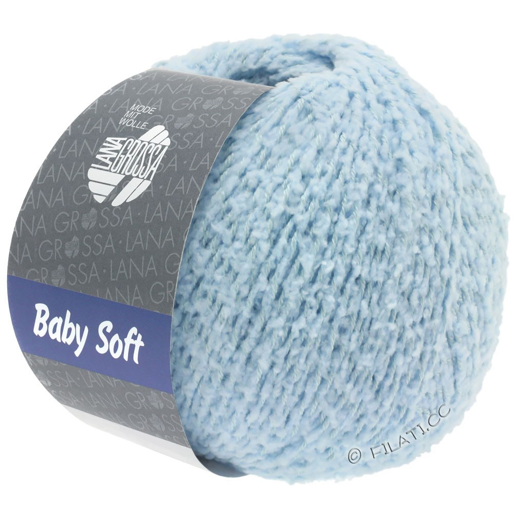 Lana Grossa BABY SOFT | 08-light blue