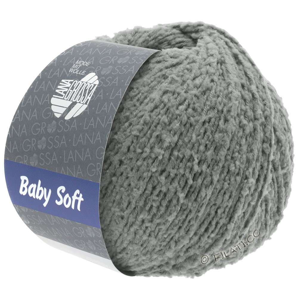 Lana Grossa BABY SOFT | 11-dark gray