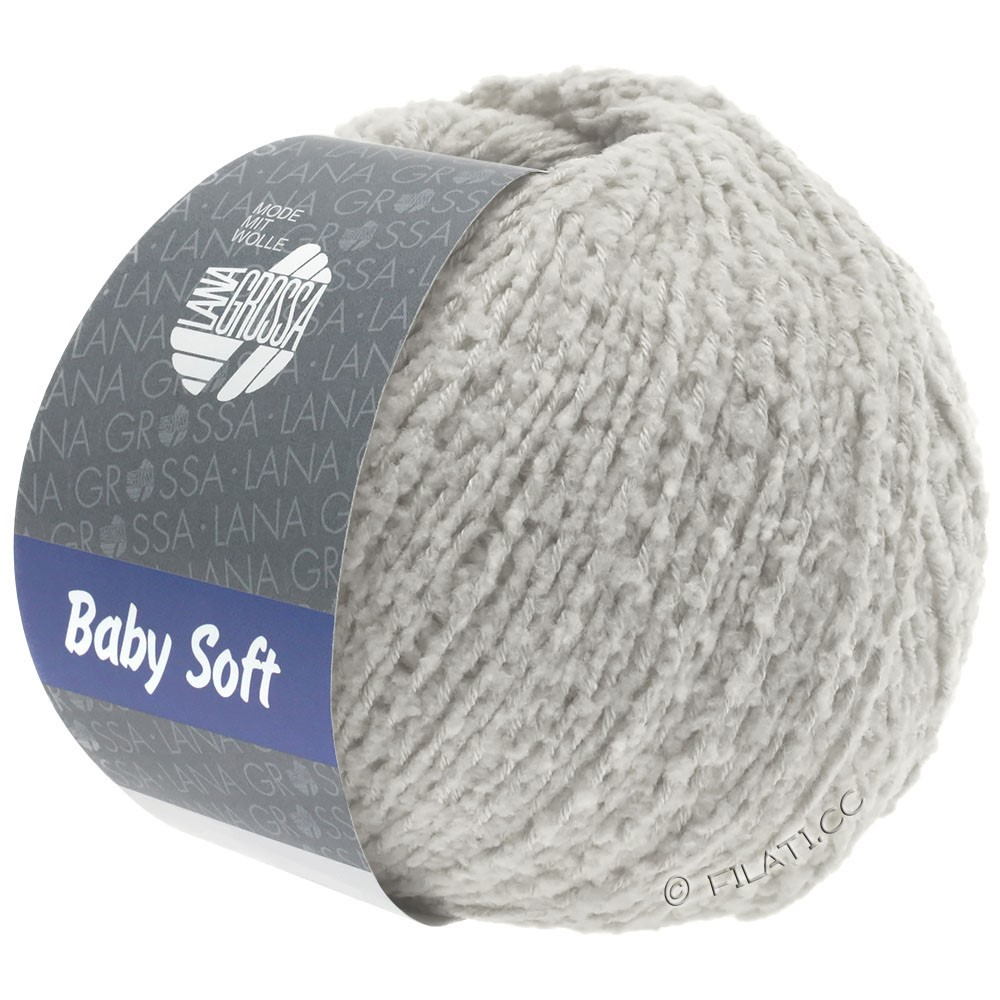 Lana Grossa BABY SOFT | 12-pale gray
