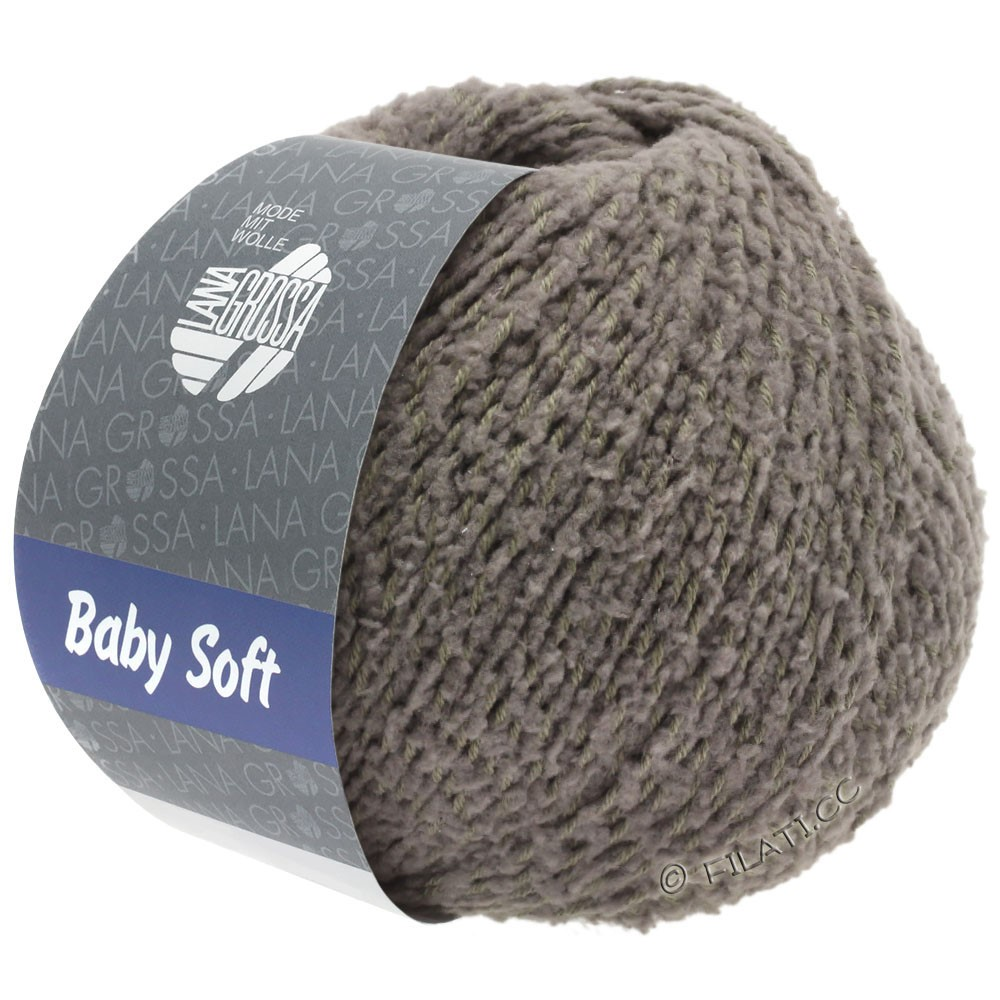 Lana Grossa BABY SOFT | 14-gray brown